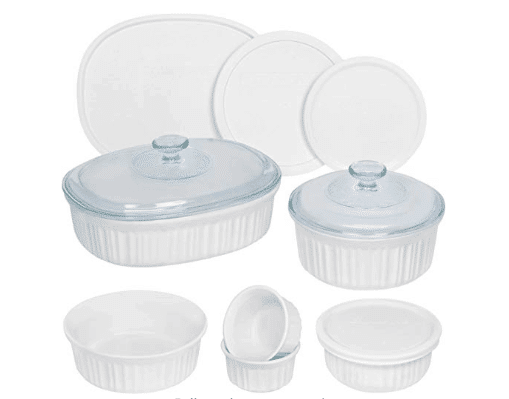 12 piece ceramic baking dishes