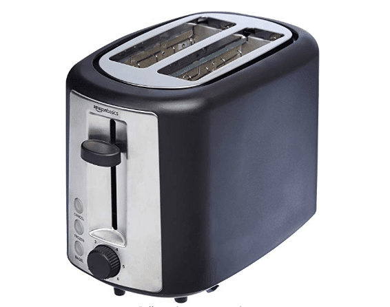 picture of a black toaster
