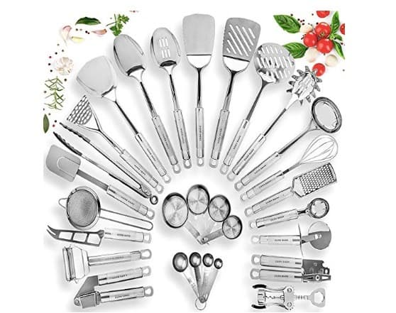 25+ Kitchen Utensil Set
