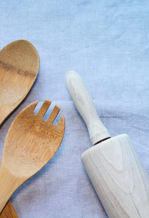 Basic Kitchen Tools Stock Image