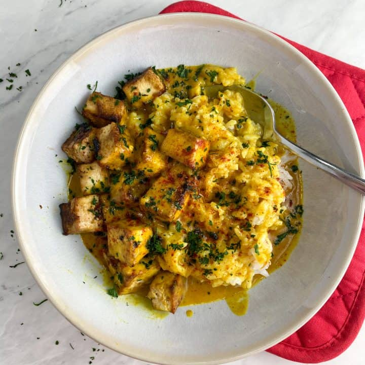30 Minute Vegetarian Coconut Curry